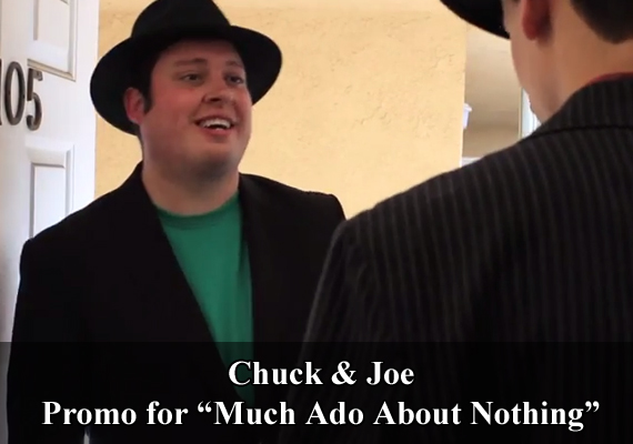 "Chuck & Joe Promo for ""Much Ado About Nothing"""